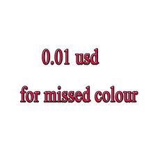 0.01 usd for missed colour 5d DIY Diamond Painting Cross Stitch 5D Diamond Mosaic 3D Diamond Embroidery Painting Rhinestones(China)