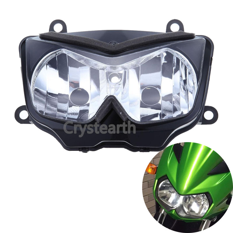 For Kawasaki Z750 2004-2006, Z1000 2003-2006, Ninja 250R 2008-2011 Motorcycle Front Headlight Head Light Lamp Headlamp Assembly for chery riich m1 headlights headlight assembly front lights light headlamp 1pcs