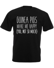Men'S Crew Neck Create Your Own Graphic Guinea Pigs Make Me Happy Short Office Tee Cheap Graphic T Shirts men s crew neck create your own graphic guinea pigs make me happy short office tee cheap graphic t shirts