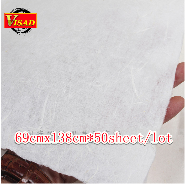 free shipping 50sheet/lot 69*138cm hand-made Chinese xuan paper & rice paper for painting and decoupage free shipping 100 pieces lot 7 colors hand made chinese rice paper for painting and decoupage 64 135cm xuan paper