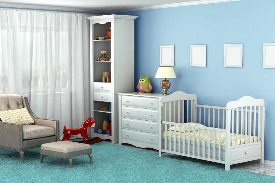 Laeacco Room Interial Sofa Curtain Crib Carpet Baby Photography Background Customized Photographic Backdrops For Photo Studio