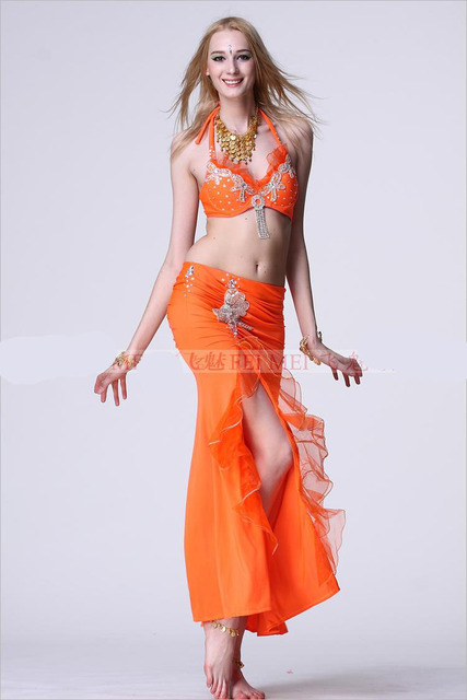 Nuevo 10 color danza del vientre producto traje danza del vientre sujetador  y camisa bollywood vestuario caf7ba31238