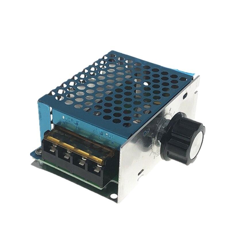 4000W 220V AC SCR Voltage Regulator  Electric Motor Speed Controller Electronic Volt Regulator Dimmer Thermostat