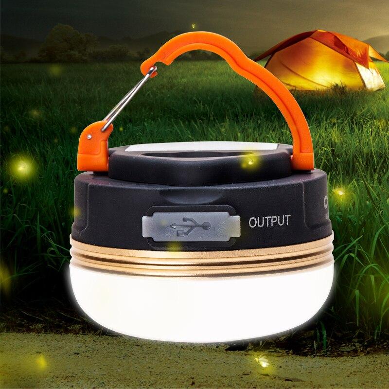 Портативный мини-фонарь для кемпинга, 10 Вт, светодиодная водонепроницаемая лампа для кемпинга, походная Ночная Подвесная лампа с зарядкой о...
