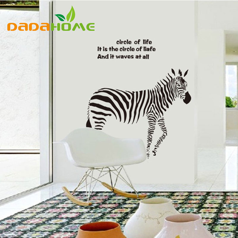 Buy home gbedroom sofa background wall for Zebra home decor