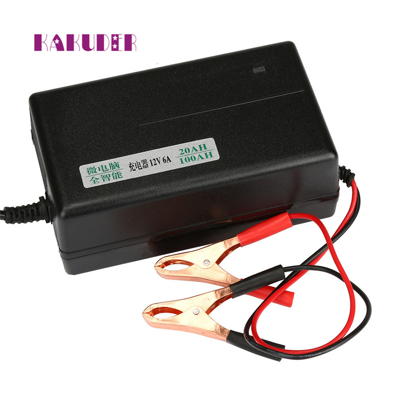 2017 12 Volt Car Battery Charger Automatic Float Car Truck Motorcycle Mower drop shippin ...