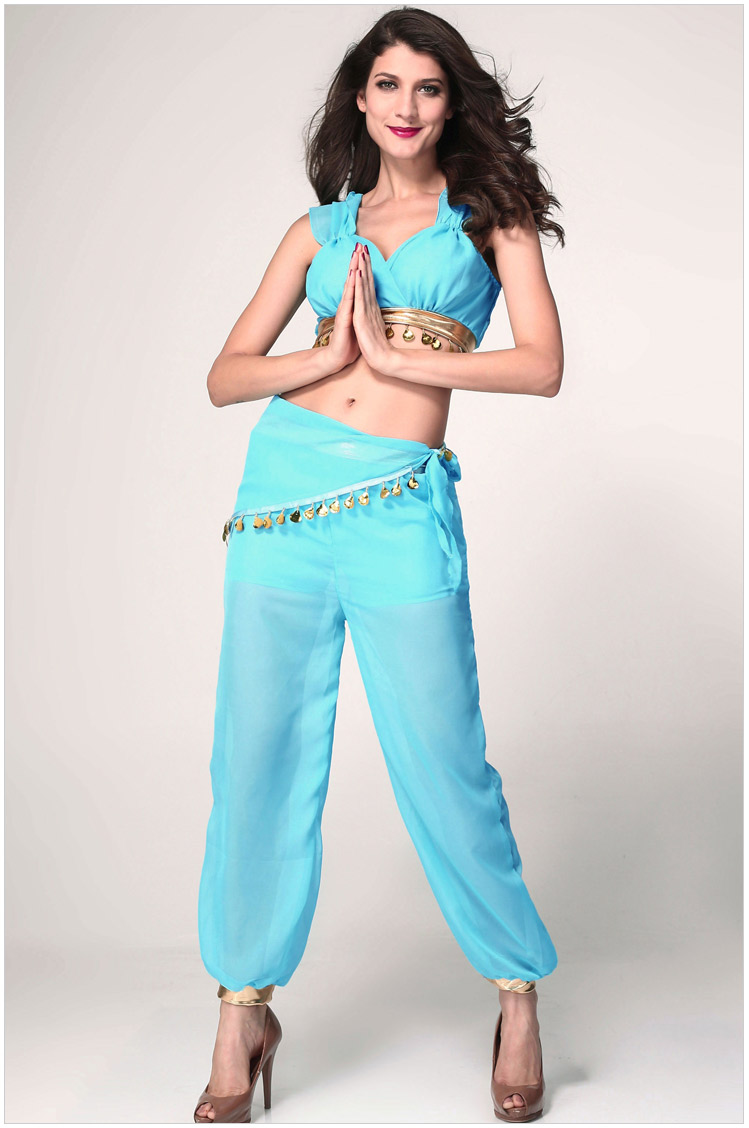 princess jasmine costumes women sexy belly dancer halloween christmas costumes for women 4pcs on aliexpresscom alibaba group - Halloween Jasmine