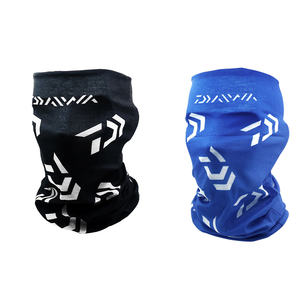 1pc Polyester Black Blue Windproof Sunscreen Summer Magic Scarf Anti Mosquito Outdoor Scarf For Cycling Climbing Fishing Tools