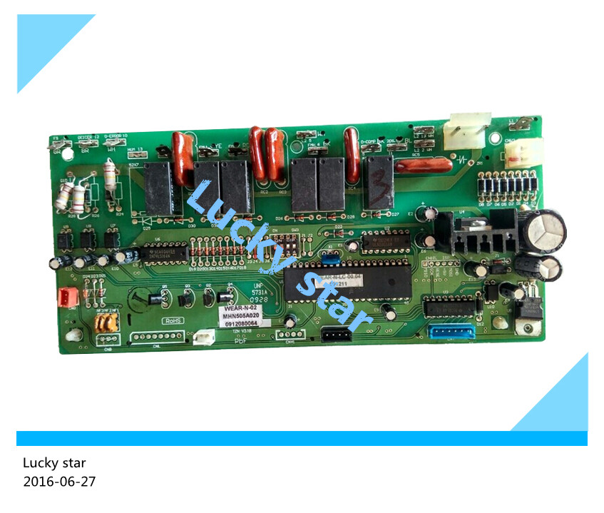 95% new for Mitsubishi Air conditioning computer board circuit board MHN505A020 good working95% new for Mitsubishi Air conditioning computer board circuit board MHN505A020 good working
