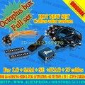 Octoplus box para lg + para samsung con medua jtag activación + para sí fuction 4 en 1 + 25 cables