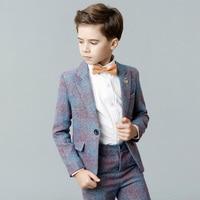Boys suits weddings dress for kids formal suit children school uniform boys blazer pageant dress costume enfant garcon mariage