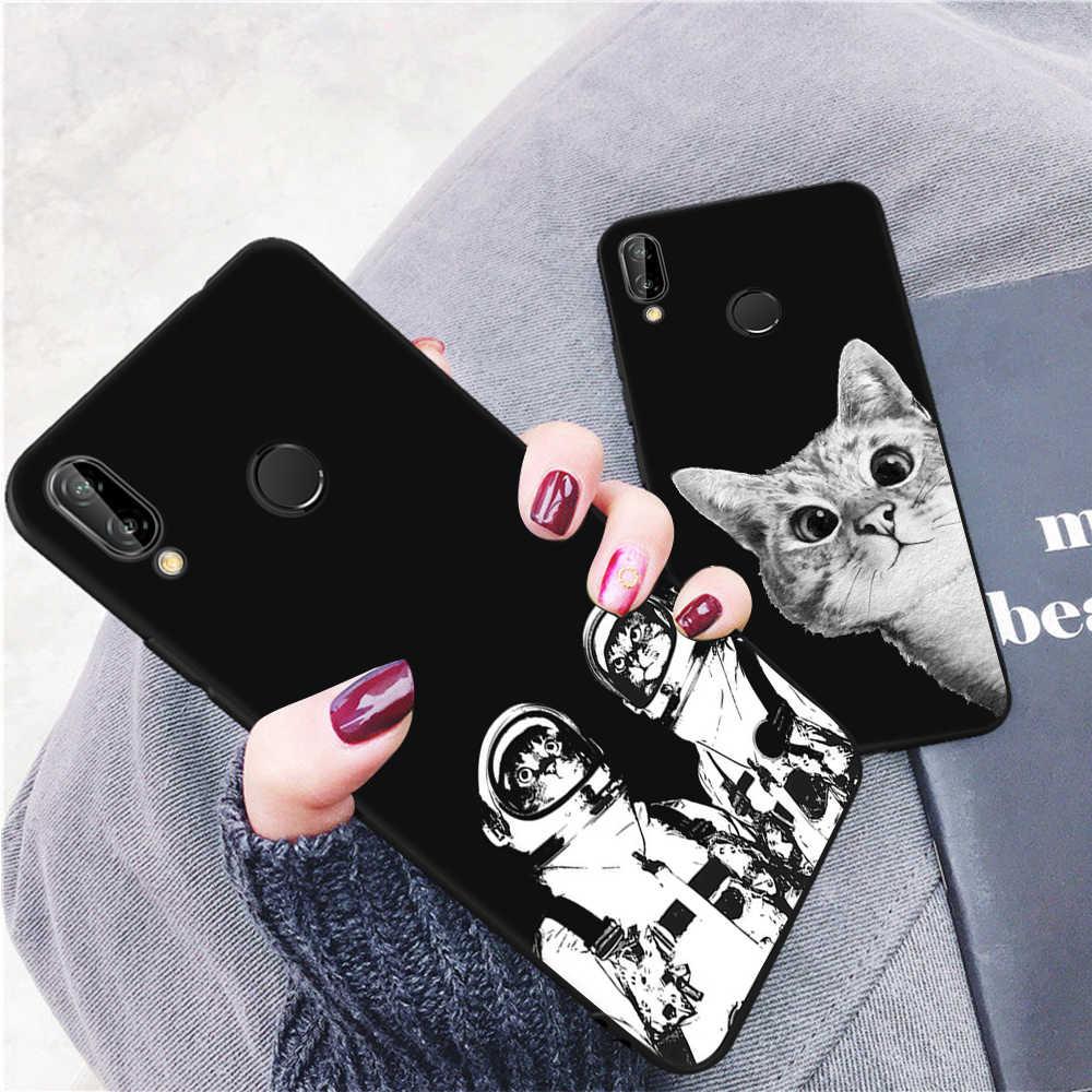 GerTong TPU de la caja del teléfono del patrón para Huawei P20 Pro Mate 10 P10 Lite P8 P9 Lite 2017 cubierta por el Honor. 8 9 Lite 9i Nova 2i Y9 2018