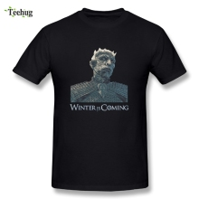 Cool Streetwear Boy White Walker Homme Tee Shirt Game Of Thrones T-shirts