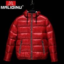 MALIDINU 2019 Men Down Jacket Brand Winter Down Coat Warm Winter Jacket Duck Down Jacket Men European Size Russian Style -30C все цены