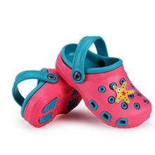 Летние детские сандалии тапочки для мальчиков и девочек удобные милые тапочки уличные детские сабо из ЭВА сандалии для мальчиков пляжная обувь