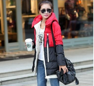 Pregnant women winter coat Korean fashion jacket  maternity  Hooded coats  padded down pregancy women clothing  SH-3883