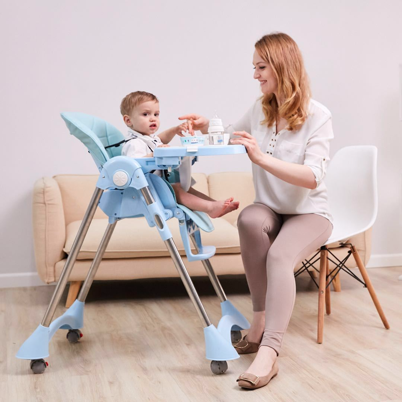 Baby Eating Seats Dining Table Multi Function Adjustable Folding