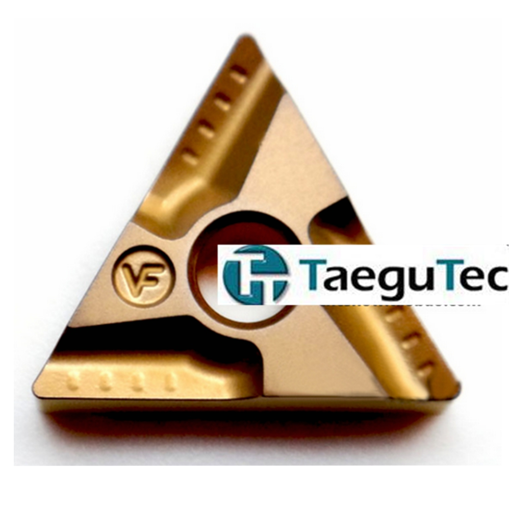 10pcs lot TNMG160408 R VF TT8125 TaeguTec Negative Triangular Lathe Inserts