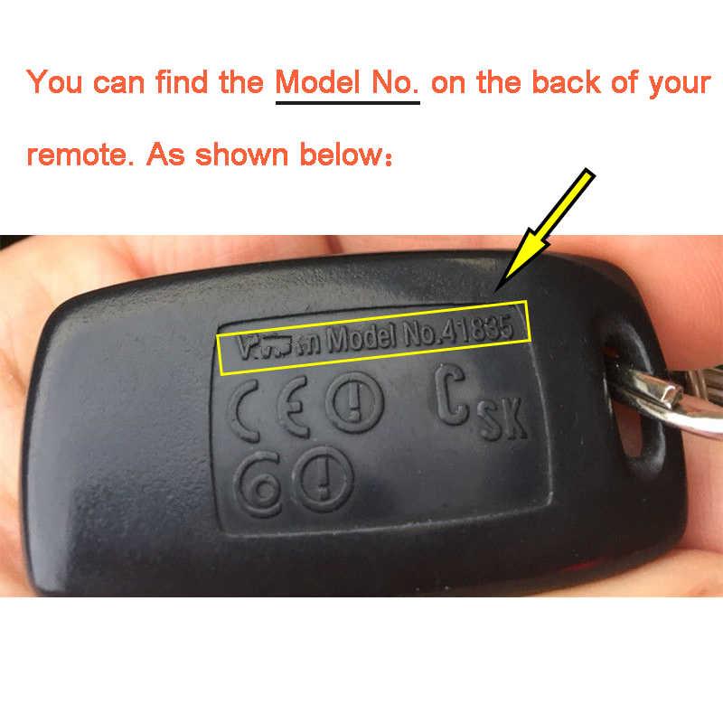 KEYECU 433MHz 4D63 modèle n° 41521/41601/41803/41835/41847 mis à niveau clé à distance à 2 boutons pour Mazda 626 RX8 2 3 6 323