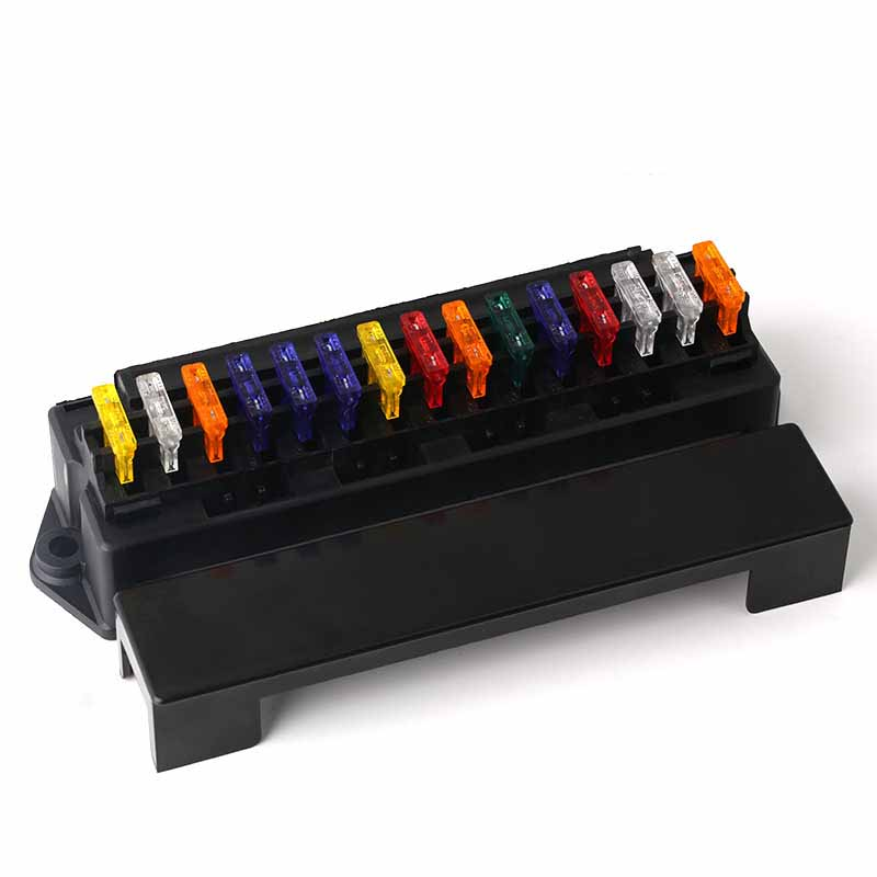 acessorio universal do fusivel da caixa do suporte do fusivel do bloco da caixa do fusivel