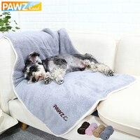 Домашние животные одеяла для собак супер мягкие теплые полотенца коралловый флис одеяла для щенка собаки кошки банные полотенца Размер S/M т...