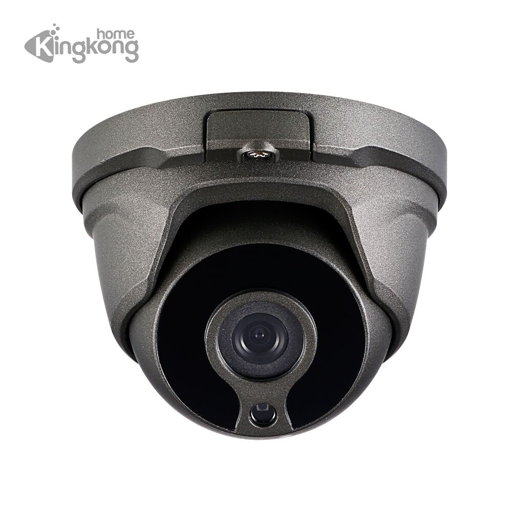 Kingkonghome POE ONVIF IP Camera 1080P Metal 2.8mm Lens Outdoor Motion Detectionl Indoor Security CCTV Surveillance Dome Camera