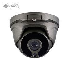 Kingkonghome POE ONVIF IP камера 1080 P Металл 2,8 мм объектив наружное Обнаружение движения охранное видеонаблюдение внутри помещения камера наблюдения в защитном колпаке