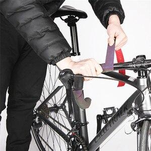 Image 2 - PU + EVA jazda na rowerze taśma na kierownicę roweru pas ściemniania pas odblaskowy pasek na pasek z gradient zmieniającym się rower