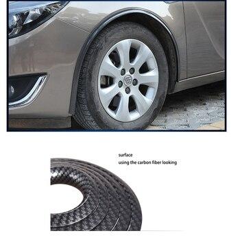 lsrtw2017 carbon fiber car wheel arches trim for cadillac ats cts ct6 ats-v cts-v xt5