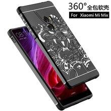 Для Xiaomi Mi Mix Чехол 6.4 «чехол Для Xiaomi Mi Смешивания Назад Охватывает Случаи Телефона антидетонационных Броня Кремния Тонкий Защита Принципиально Капа