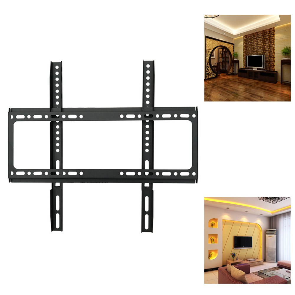 1pcs Universal TV Wall Mount Bracket Fixed Flat Panel TV Frame for 26 to 63 Inch LCD LED Monitor Flat Panel High quality1pcs Universal TV Wall Mount Bracket Fixed Flat Panel TV Frame for 26 to 63 Inch LCD LED Monitor Flat Panel High quality