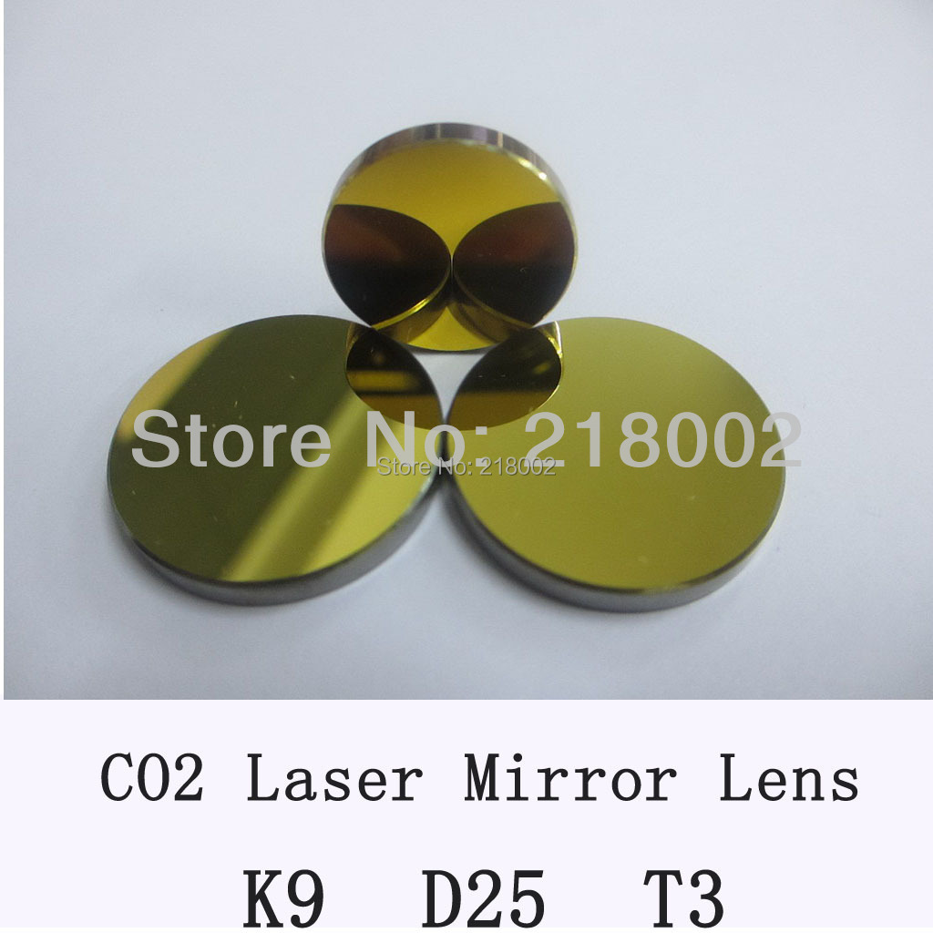 K9 Co2 laserspiegel 25 mm diameter, dikte 3 mm