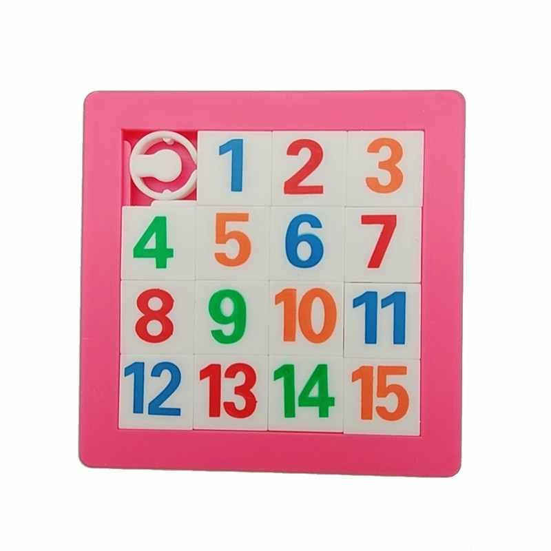 7*7 см номера алфавиты обучающий пазл игрушки Puzzles3D головоломки Пластик здания детские развивающие игрушки подарки