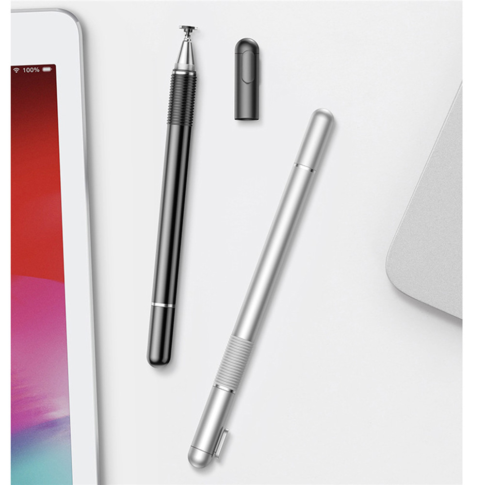 2 In1 Capacitive Stylus Touch Screen Pen Stylus Pen For IPhone For I Pad For Tablet Phone