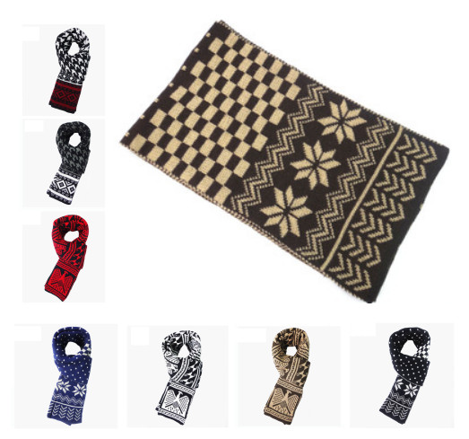 12 Style Scarf Men 2015 Hotsale Desigual Fashion Plaid Snowflake Cashmere Brand Winter Warm