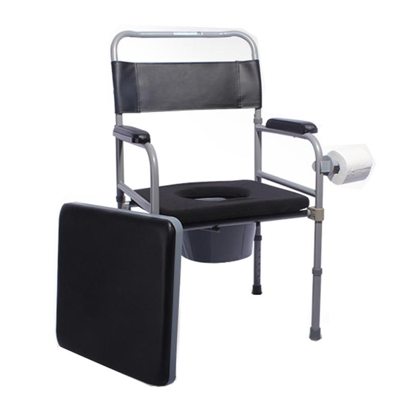 2019 Mode Hohe Qualität Medizinische Kommode Stuhl Faltbare Einstellbare Für Behinderte Und ältere Eine Hohe Bewunderung Gewinnen