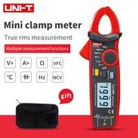 UNIT UT210E True RMS 미니 디지털 클램프 미터 AC/DC 전류 전압 자동 범위 VFC 커패시턴스 비접촉 멀티 미터 UT/210A/B