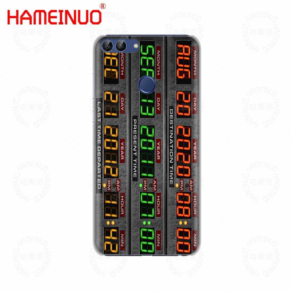 Delorean Macchina Del Tempo di Ritorno Al Futuro Cassa Del Telefono per Huawei Nova 2 2S 3e Più Lite P Smart 2018 Godere di 7 S Mate 7 8 9 10 Pro