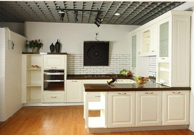 Armario Baño Pared ~ Aliexpress com Compre Madeira armário de cozinha ilha, América estilo projeto do armário de