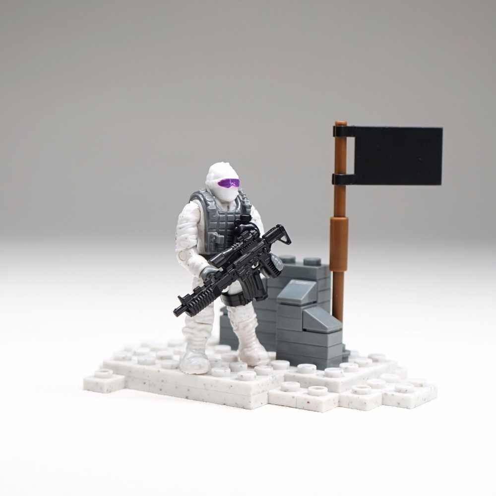 City Police SWAT Team Army Soldiers With Weapons WW2 Building Blocks Toys for children gift