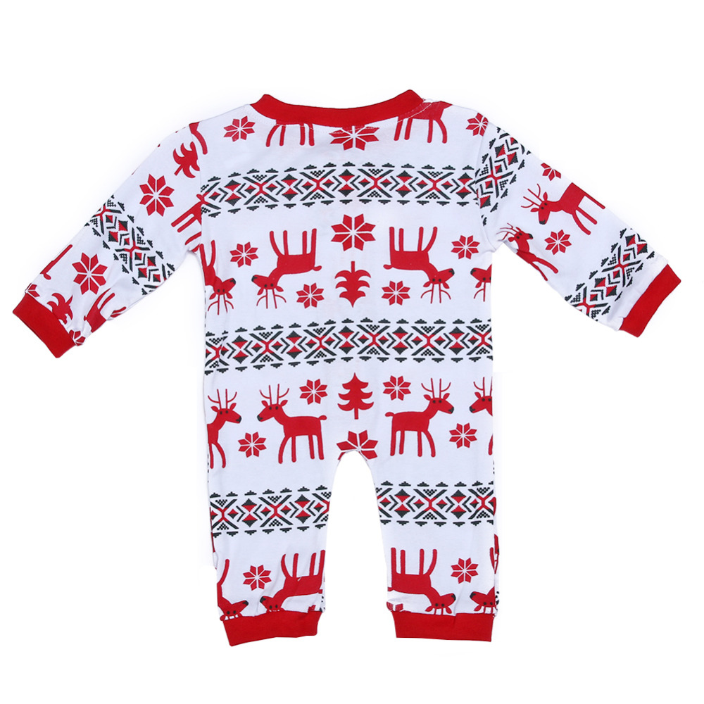 Family Matching Christmas Pajamas Family Clothing Mother Daughter Father Son Clothes Family Clothing Sets Family Style Suit
