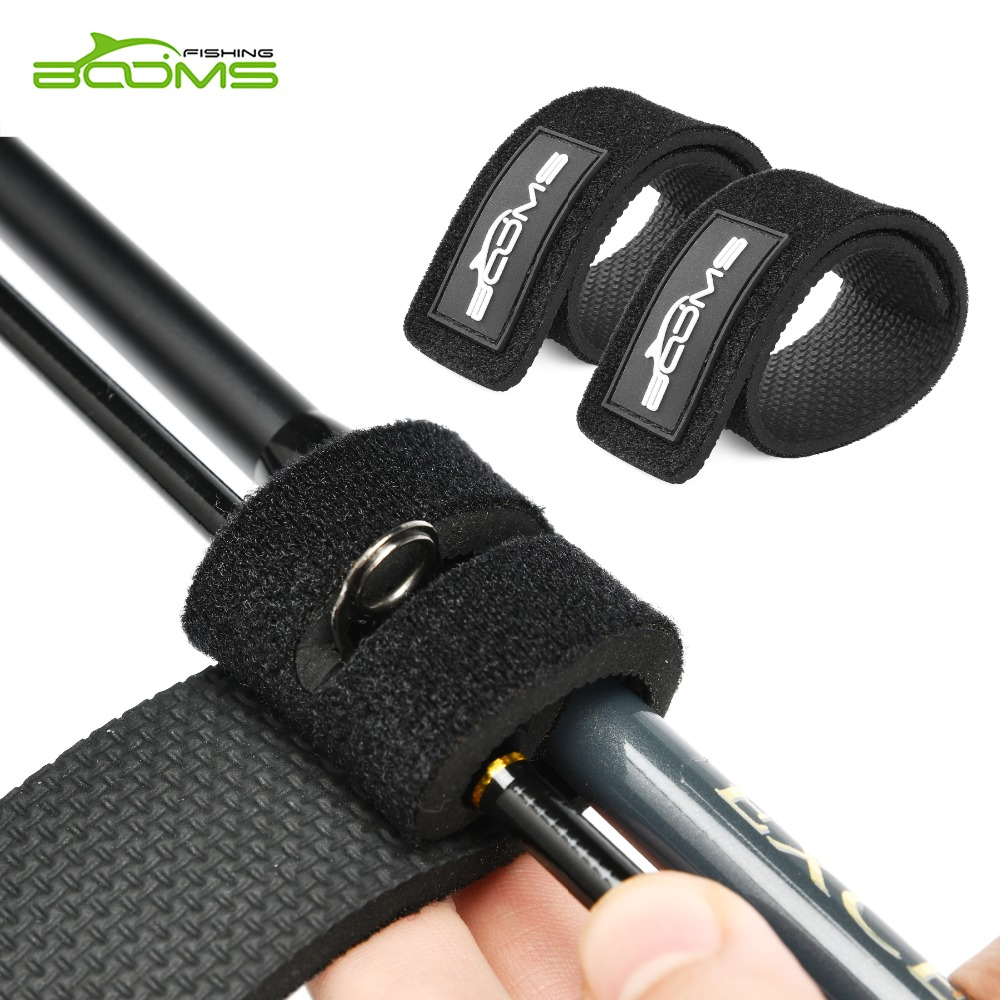 Booms Fishing RS3 Lure Fishing Rod Belt Strap With Rod Tie Holder Suspenders Wrap Fishing Tackle Boxes Tools Box Accessories цены онлайн