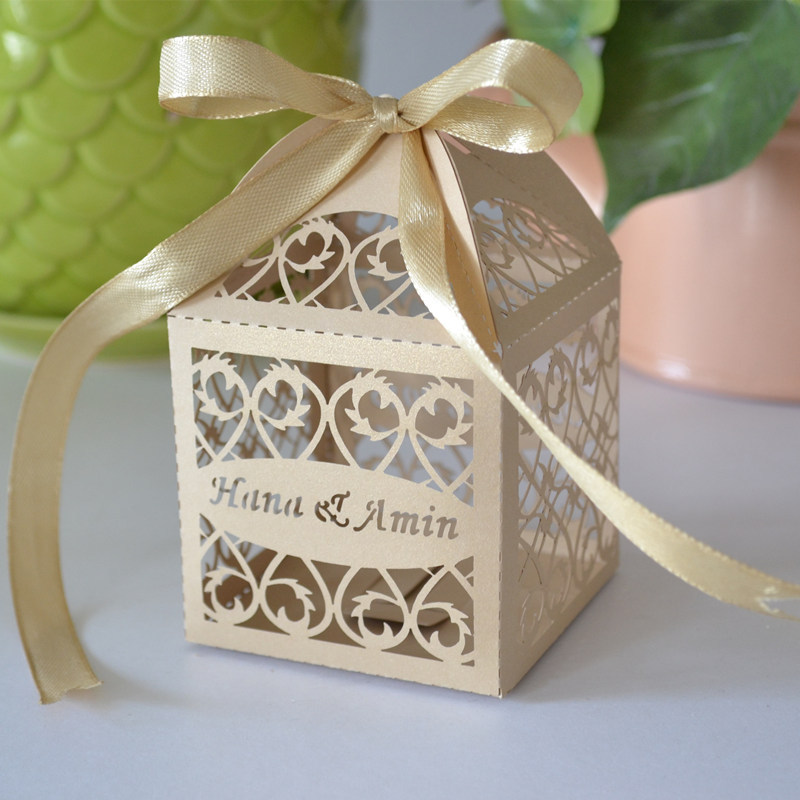 wedding thank gifts for guests, wedding souvenirs box, wedding return ...