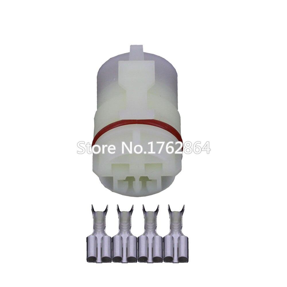 Conector fêmea de 4 Pinos 6.3mm Automotive Habitação Automóvel DJ70419-6.3-21