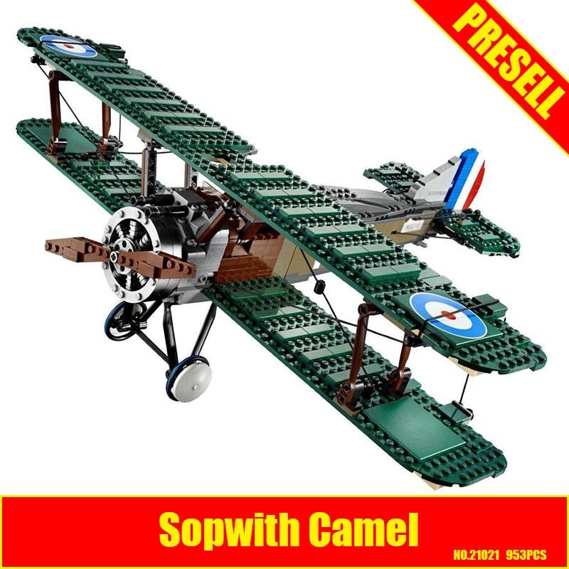 Lepin 21021 953Pcs Genuine Technic Series The Camel Fighter Set Children Educational Building Blocks Bricks Toys Model 10226