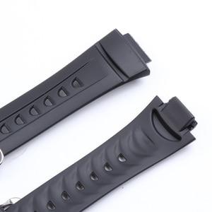 Image 5 - Silika jel spor yarış saat kordonları Casio G 2900 serisi su geçirmez kauçuk spor silikon kayış Watchband bilezik aksesuarı