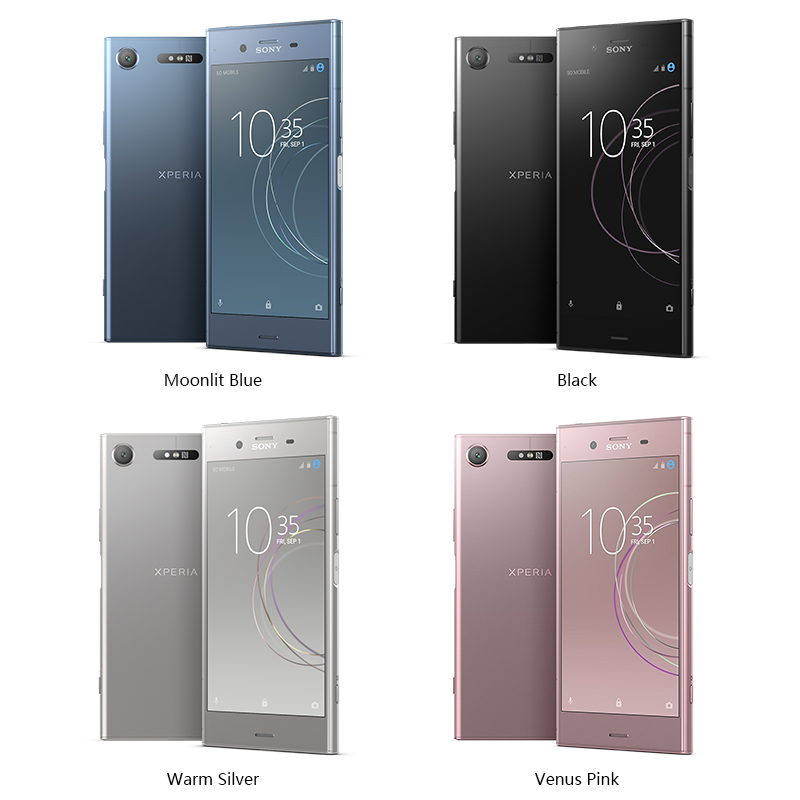 Unlocked Original Sony X Peria XZ1 G8342/G8341 64G ROM 4G RAM 19MP Octa Core NFC Android 7.1 Mobile Phone 2700mah Android