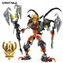 Smartable バイオニクルスケルトンマスク王フィギュアビルディングブロックのおもちゃセット男の子互換性すべてのブランドバイオニクルギフト 279 ピース/セット