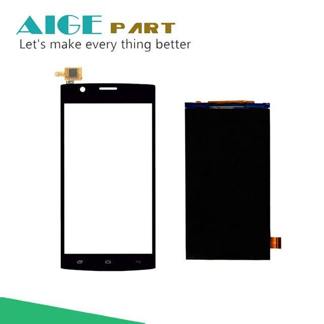 Para a MOSCA FS501 Display LCD + Digitador Da Tela Tou Para VOAR FS 501 Tela LCD Sensor de Vidro Peças de Reposição + Rastreamento número