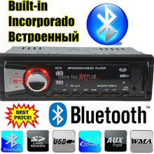 2015 New 12V Car Stereo car Radio bluetooth MP3 Audio Player built in Bluetooth USB SD